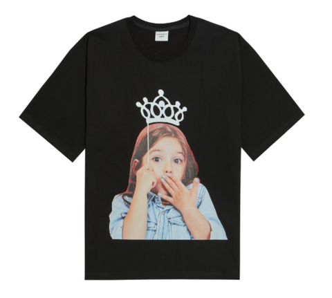 Crown Girl Short Sleeves T-shirt