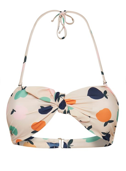 Fruit Pattern Bikini Top