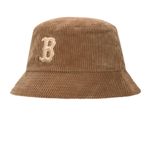 Corduroy B Bucket Hat