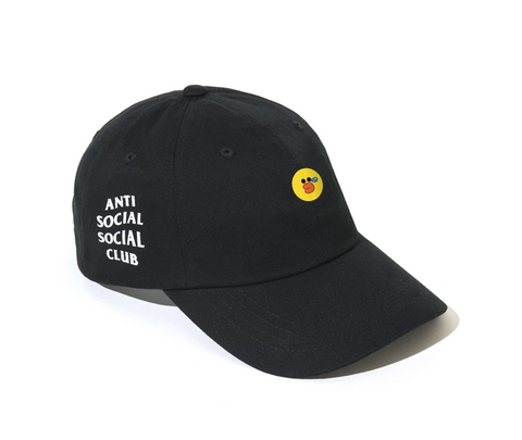 Line x Assc Sally Duck Black Cap