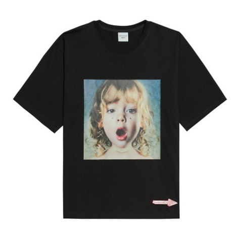 Diamond Tear Girl Short Sleeves T-shirt
