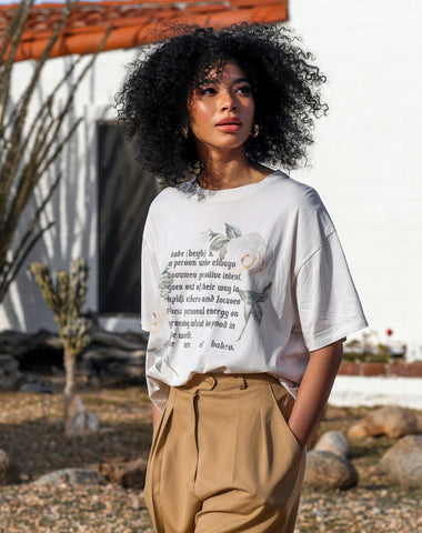Babe Definition Vintage Boxy Tee