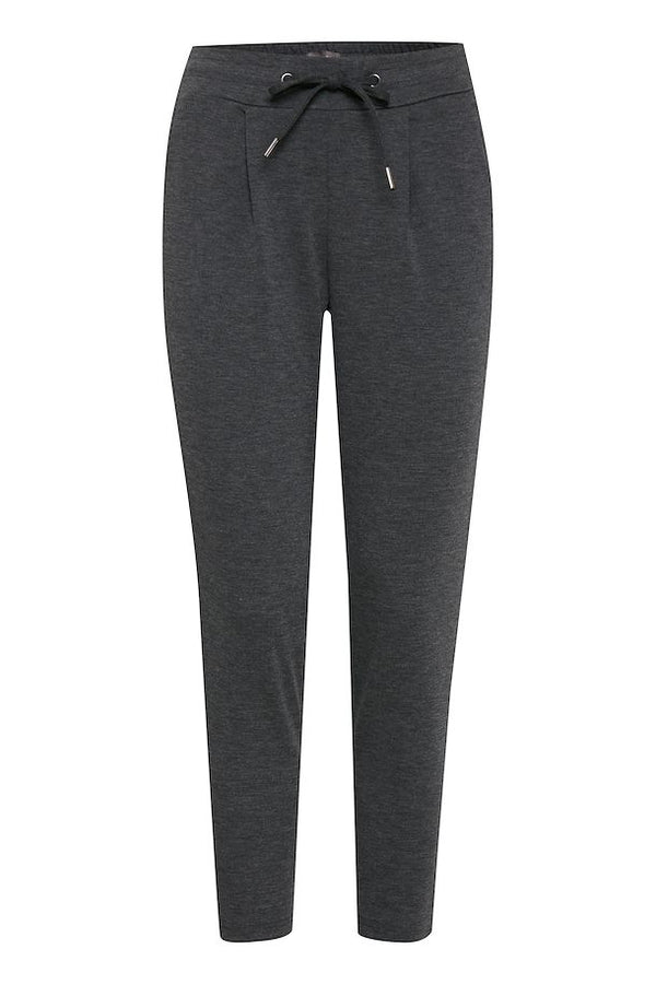 Tapered Knit Trousers