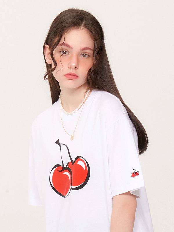 Big Cherry Front Logo T-shirt
