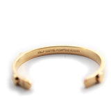 The Quinn Cuff in Gold
