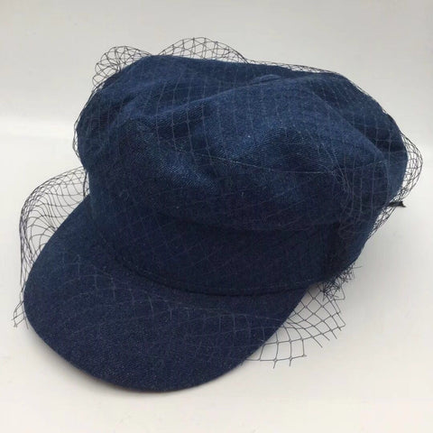 Lace Newsboy Cap