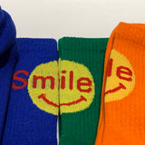 Smily Face Long Socks