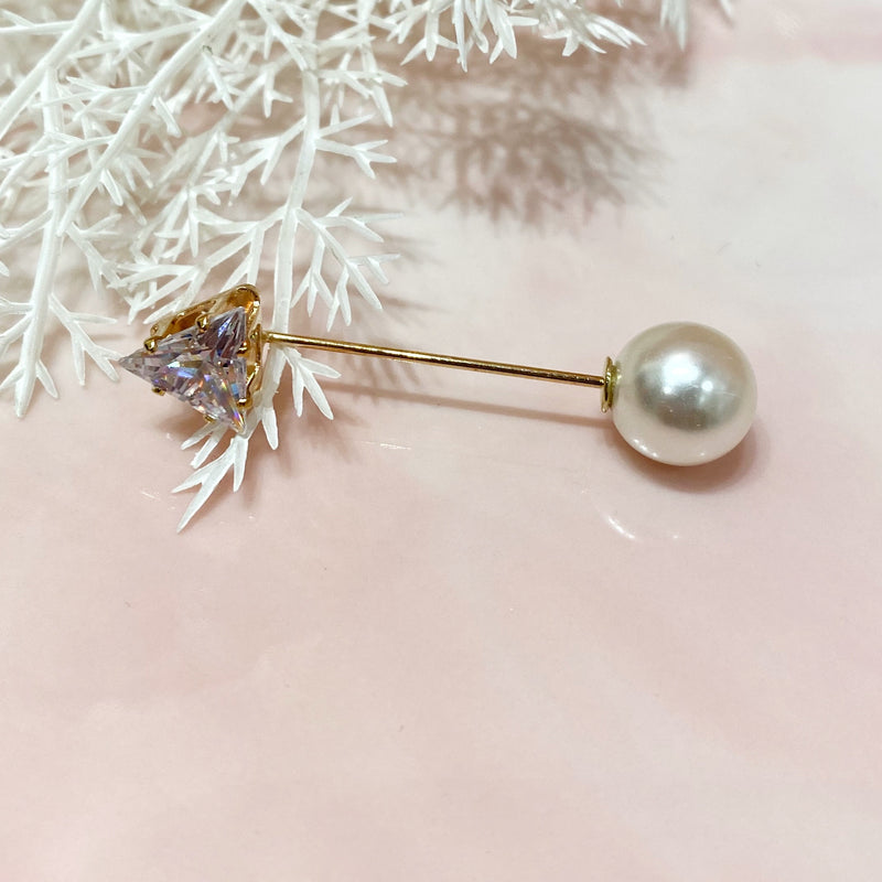 Single Pearl Decoration Pin