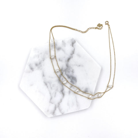 Two-lined Pearl Choker