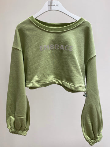 Embrace Crop Sweatshirt