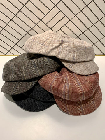 Checker Octagonal Hat