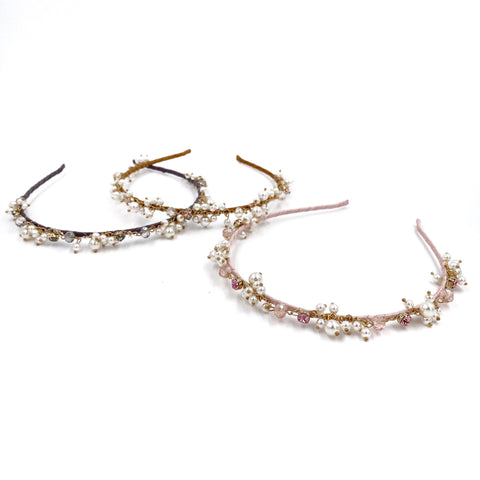 Chain Pearls Headband