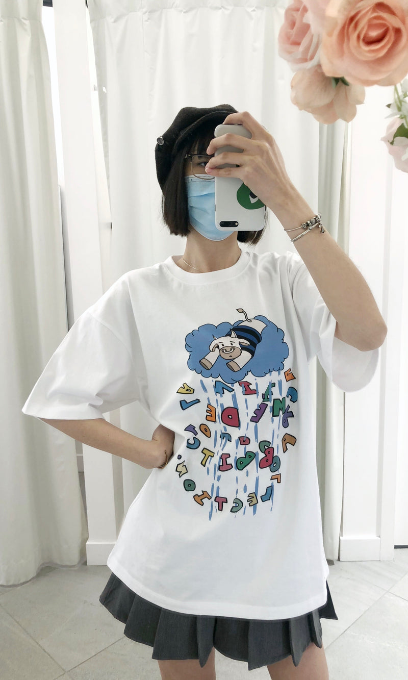 Rainy Cow T-shirt