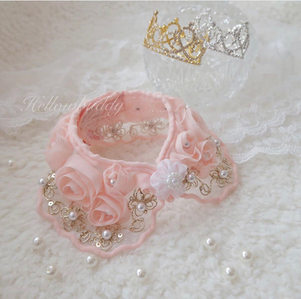 Babe Rose Collar