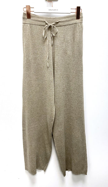 Soft Knit Wide Leg Pants