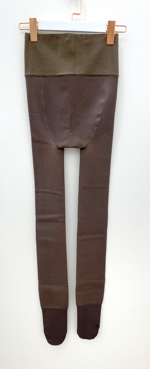 High-waisted Tights with Fleece Lining