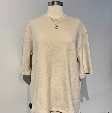 Oversized Solid Color Tshirt