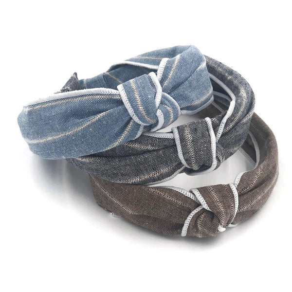 Denim Fabric Hairband
