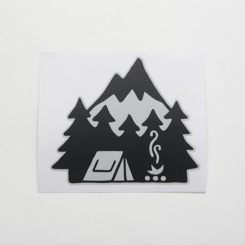 Lonely Mountain Sticker - by David Rollyn