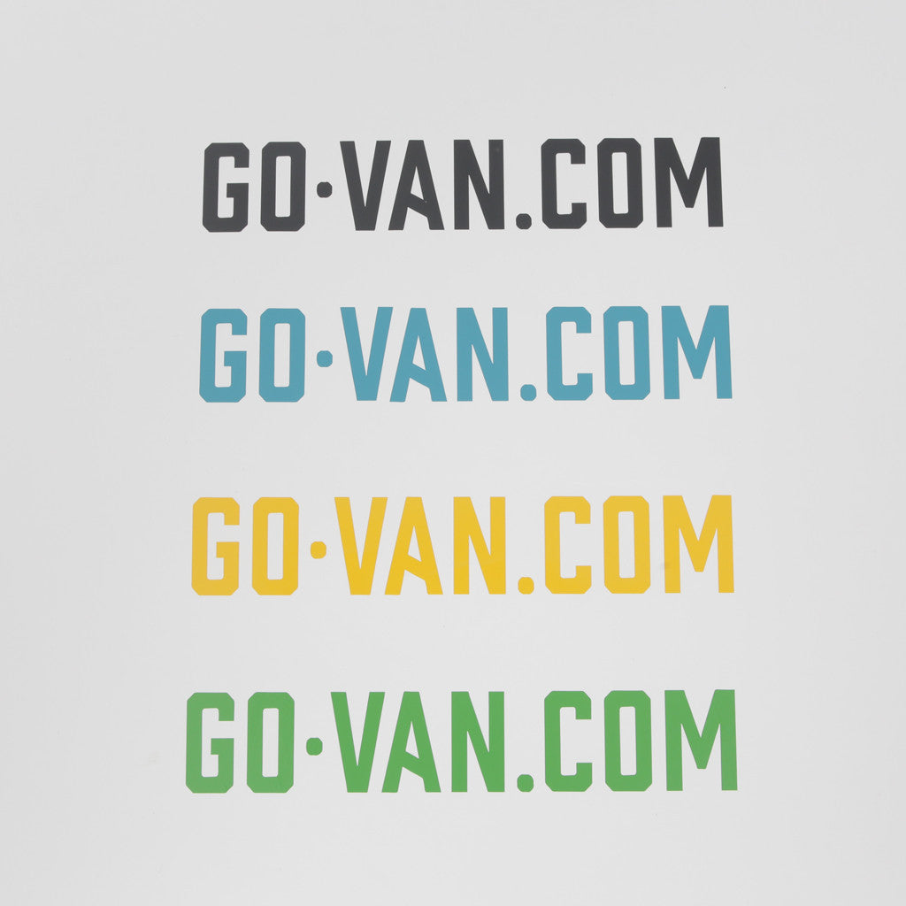 Go-Van Bumper Sticker