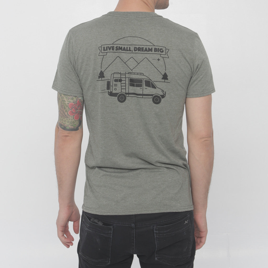 Go-Van 4X4 Sprinter Tee - Military Green