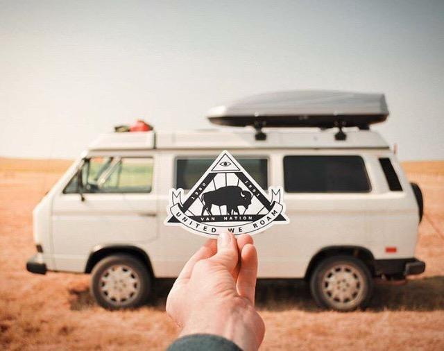 Founders Sticker - by Van Nation