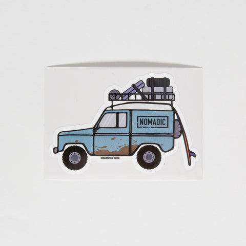 Land Rover Defender Sticker - By Nomad Design
