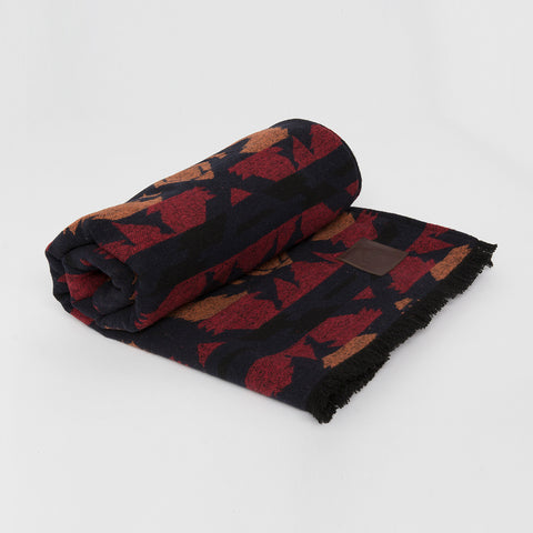Go-Van Blanket - Red & Blue