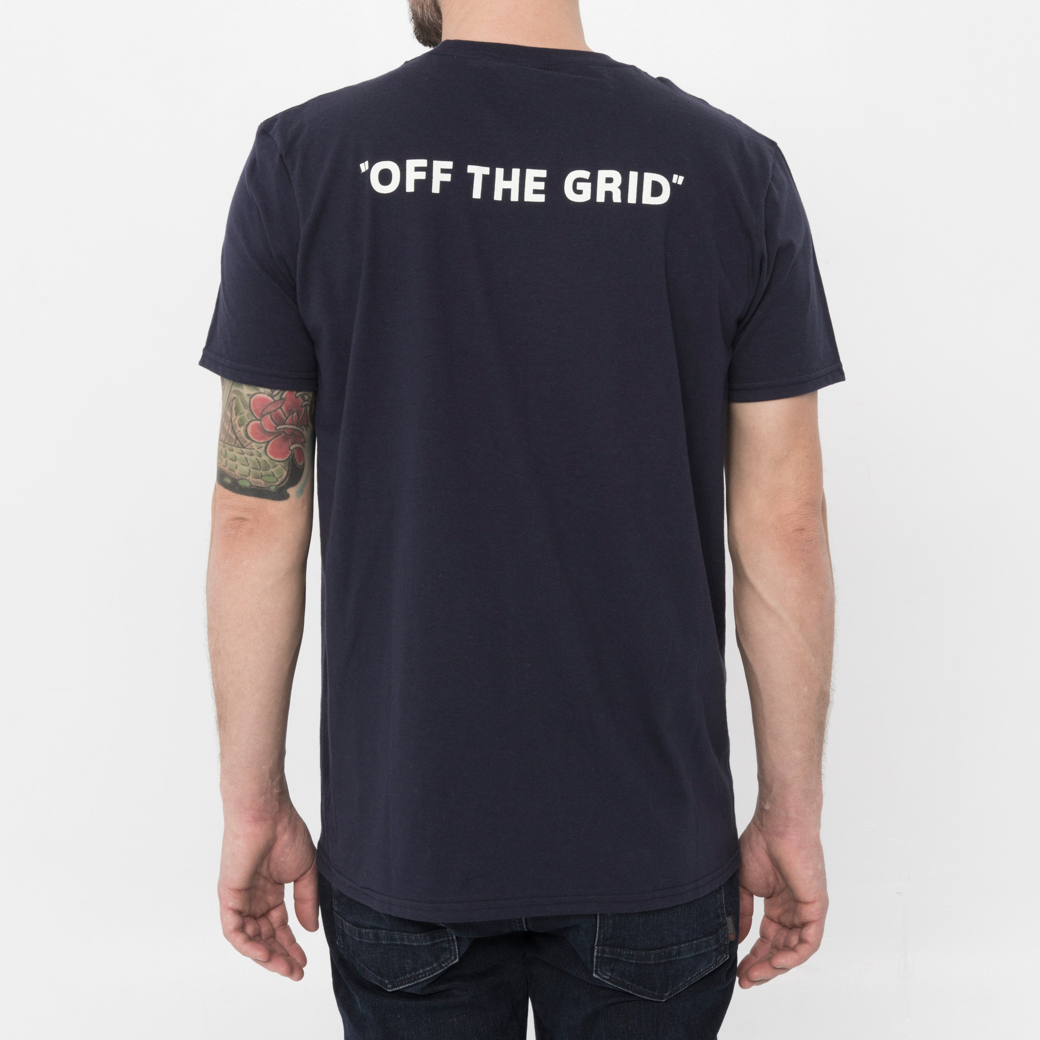 Off The Grid Vanlife Pocket Tee - By Nomad Design
