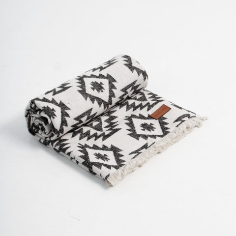 Go-Van Blanket - Black & White