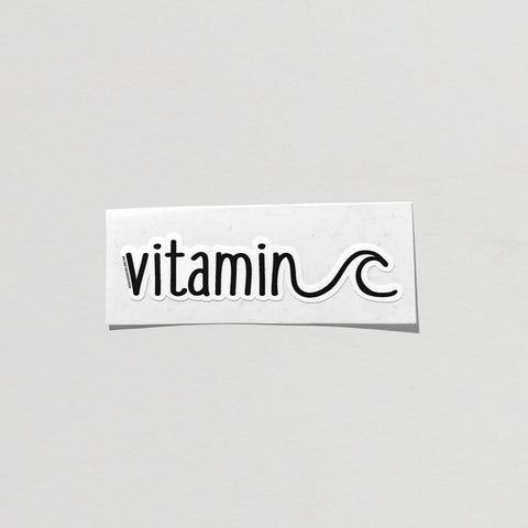 Vitamin C  Sticker - By Nomad Design