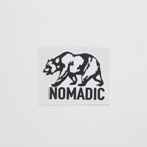 Nomadic California Sticker - By Nomad Design