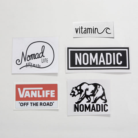 Sticker Pack - By Nomad Design