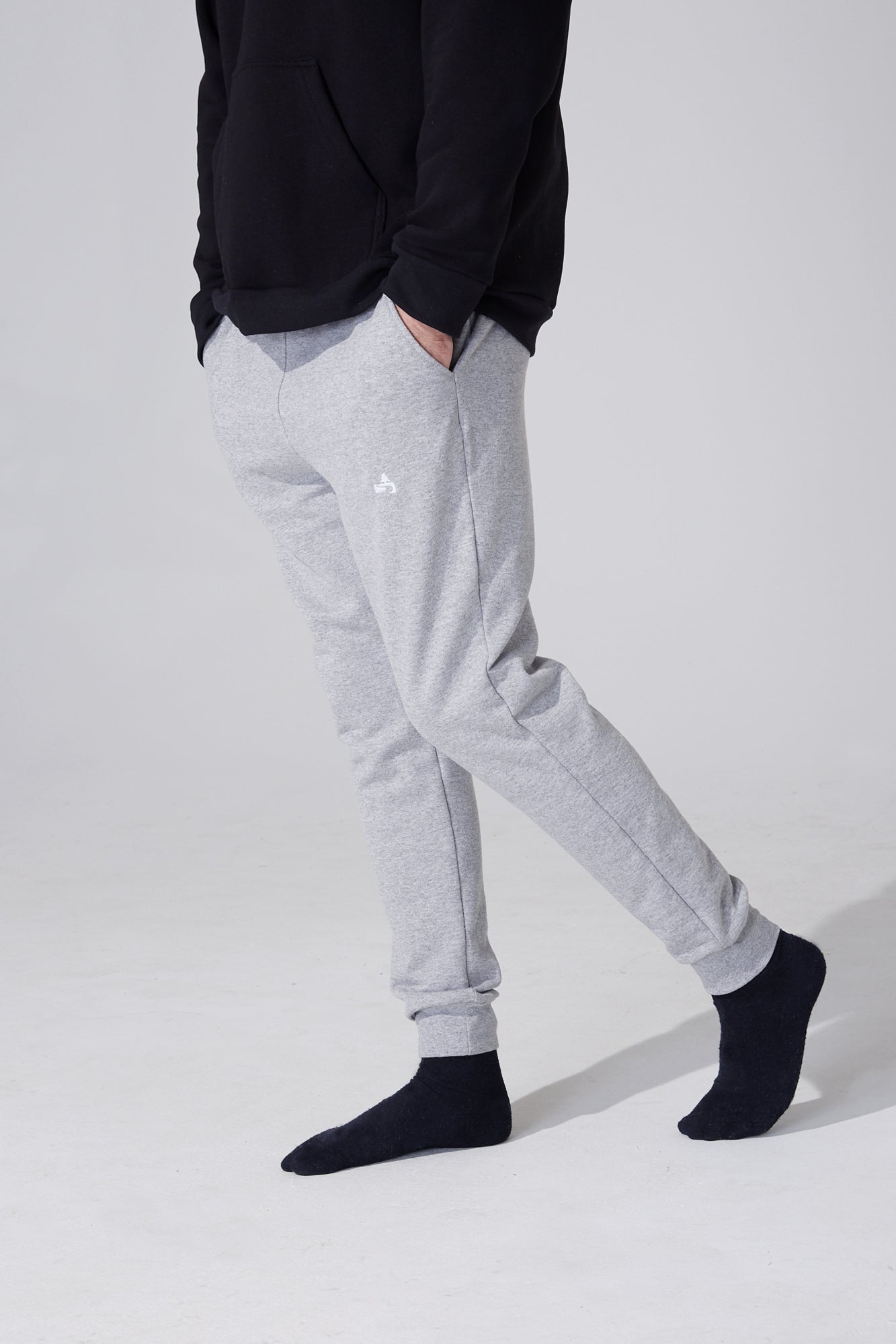 C'est Beau - Road trip Sweatpants - Light Grey