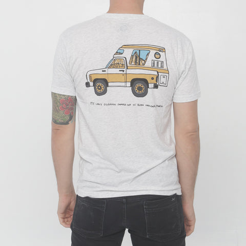 Parks Project - Radtruck in Zion tee