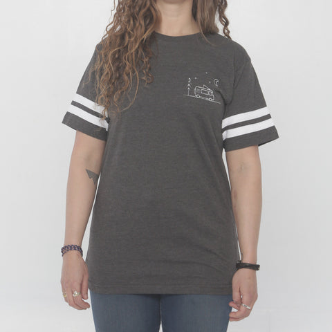 Van Life Ringer Tee by Three Leaves co