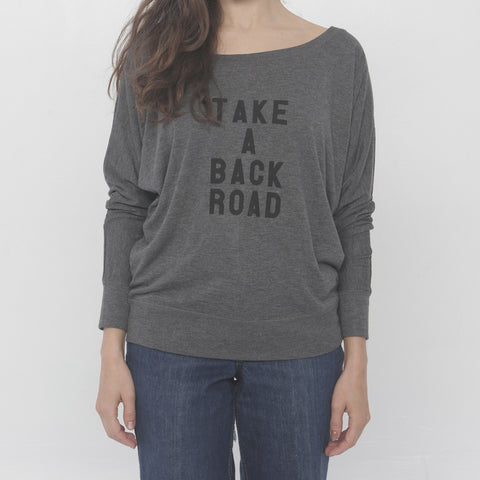 Take A Back Road Long Sleeve by Three Leaves co