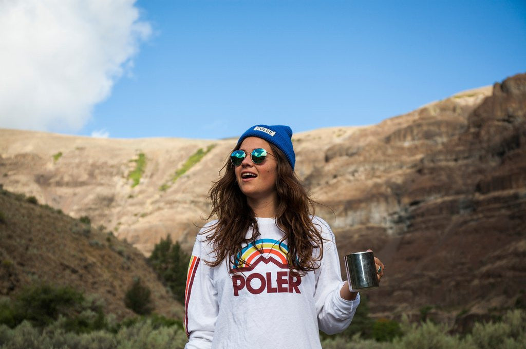 Poler Stuffable Day Pack + Worker Man Beanie