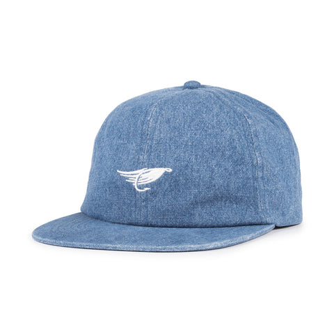 Hooké Fly Strap Back Washed Cap