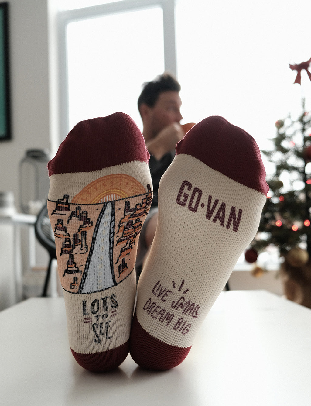 Lots To See Socks - Go-Van x Robin Des Bas Collab