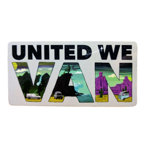 United We Van Sticker - by Gnomad Home