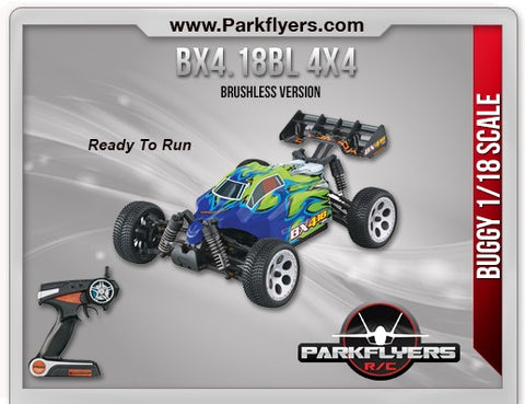 1/18 BX4.18BL Brushless 4WD RTR
