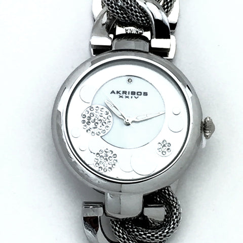 Akribos XXIV Womens AK895SS-BX watch - New With Tag