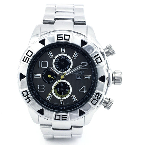 AUGUST STEINER MENS WATCH AS8130SSB - New With Tag