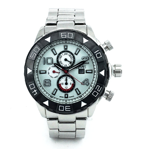 AUGUST STEINER MENS WATCH AS8130SSW - New With Tag