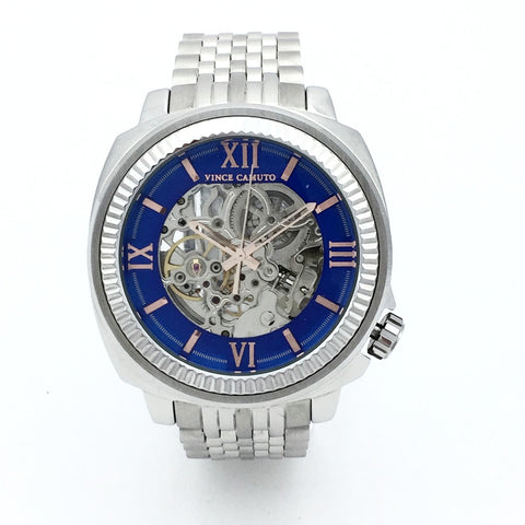 Vince Camuto VC/1069BLSV Mens Watch with Automatic Movement - MSRP $250