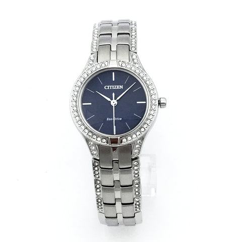 Citizen J730-S095441 ECO-DRIVE Crystal Womens Watch - Pre-Owned
