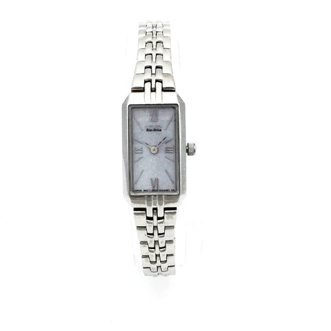 Pre-Owned Citizen g620 s061466 Eco-Drive Womens Retangle Watch
