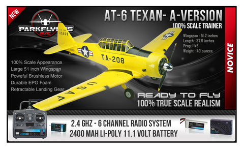 AT-6 Texan Large Scale RTF - A Version (Yellow)