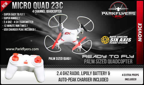 Micro Quad 23C - RC Quadcopter/Drone